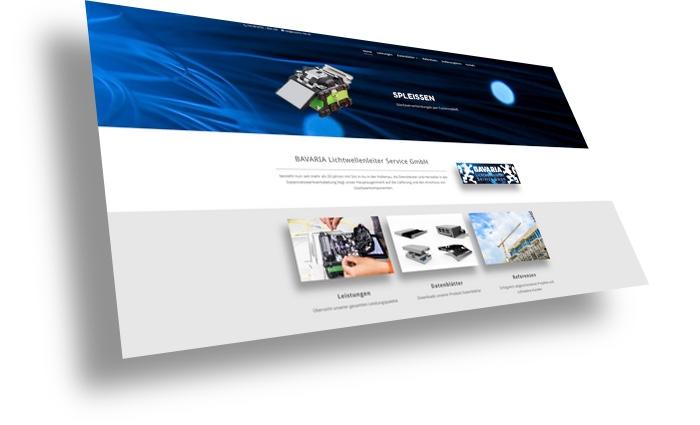 Kundenwebsite Bavaria LWL Service GmbH