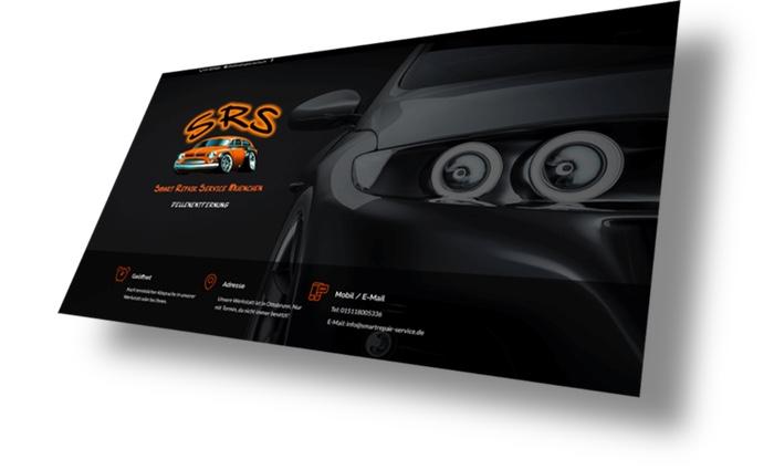 Kundenwebsite SRS
