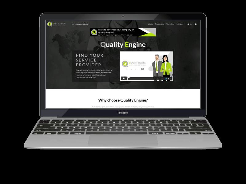Webdesign Referenzen Projekt Quality Engine